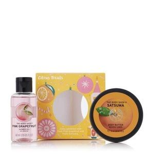 3 for 20 Body Shop Citrus Treats Gift Set